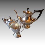 Gorgeous Three Piece Gorham Sterling Silver Tea Set