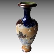 Early 1900's Doulton Slaters Pottery Vase