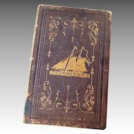 "1843 Book ""Thulia: A Tale of Antarctic"" by J.C. Palmer U.S.N."