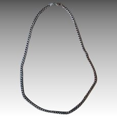 Heavy Link Sterling Silver Necklace