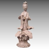 """Beautiful Early """"China"""" Porcelain """"Quan Yin"""" Figurine"""
