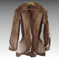 Stunning  Cow Fur / Hide Women's Jacket