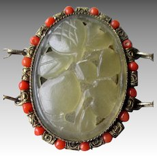 Wonderful Early Chinese Carved Jade Bracelet