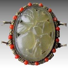 Wonderful Early Chinese Carved Jade Bracelet