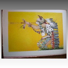 "Boxed Suite ""John Doyle"" Medicine Man Stone Cut Lithographs"