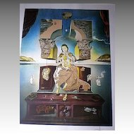 Signed Salvador Dali Lithograph - Madonna of Port Ligat