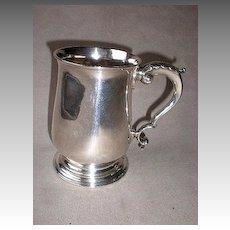 Magnificent 1771 Georgian Sterling Silver Tankard
