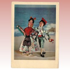 Vintage Nistis Doll Postcard Klumpe Roldan Spain!