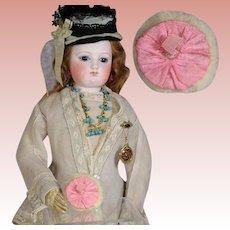 Antique French Fashion Doll Powder Puff circa 1920s