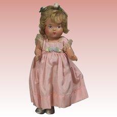 RARE! 1937 Mme Alexander Compo Princess Elizabeth Dionne Head Doll!