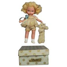 "Rare! 1930s JUDY ANN ""Goldilocks and the Baby Bear"" Nancy Ann Storybook Doll"