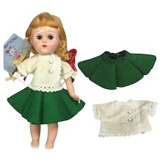 Vintage 1958 Tagged Vogue GINNY Doll Separates Blouse and Skirt!