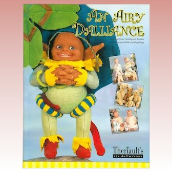 Doll Reference Book! Theriault's An Airy Dalliance w Prices Realized!