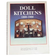 Doll Reference Book! Doll Kitchens 1800-1980 - Roomboxes Etc