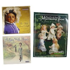 Doll Reference Books! 3 Theriault's Doll Books - Bisque French Fashion China Etc