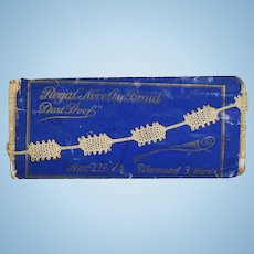 Lovely Unused Packet Antique Lace Novelty Braid Trim - for Doll Sewing!