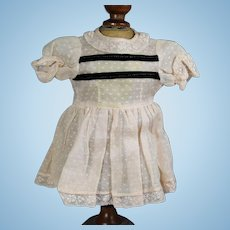 Sweet Little 1940s Dress for Doll - Shirley Temple Style