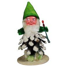 1940s US Zone Germany Christmas Pinecone Elf