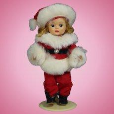 Rare Vintage 1954 Nancy Ann Storybook Muffie Santa Claus Doll!