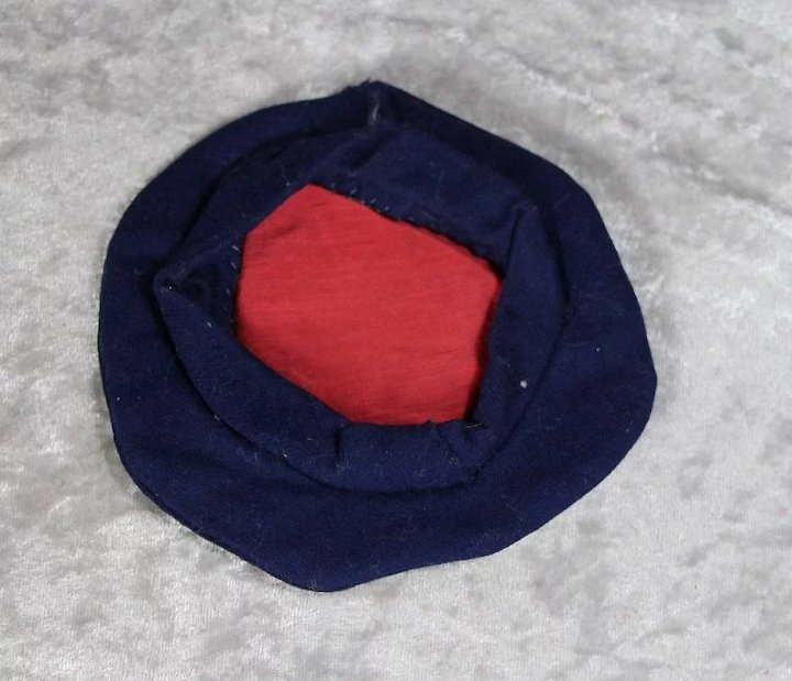 6f345e8efd102 Antique Sailor Hat for Boy Doll!   Memories Of Things Past