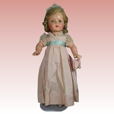 MIB! 1930s Compo Mme Alexander Princess Elizabeth MINTY w Box!
