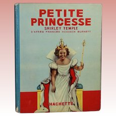 Vintage 1939 Shirley Temple Little Princess FRENCH Version!