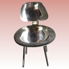 Vintage Sterling Silver Doll EAMES Chair Acme Studios