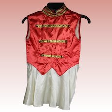 Vintage c1940s Child's Majorette Dance Costume!