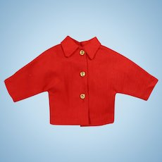 Nice! Tagged 1958 Mme Alexander ELISE Doll Red Nautical Jacket