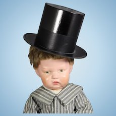 Vintage Boy Doll Top Hat! Ring in the New Year!