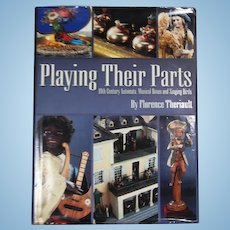 Doll Reference Book!  Theriault's Playing Their Parts 19th Century Automata