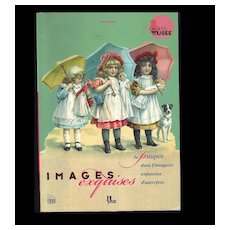 """Samy Odin Doll Book """"Images Exquises"""" Dolls in Trade Cards, Ads"""