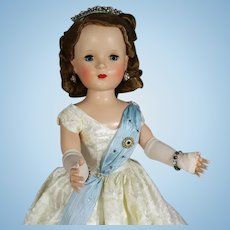 HTF! 1954 Mme Alexander Queen Elizabeth Margaret Doll - Beaux Arts Creations