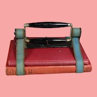 Fantastic! Patented 1873 Antique School Book Strap Carrier Holder!