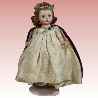 "1954 Mme Alexander-kins Queen Elizabeth II ""Me and My Shadow"" Doll!"