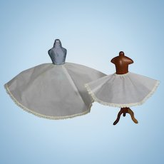 Vintage 1950s Vogue Ginny and Jill Doll Petticoat Slips