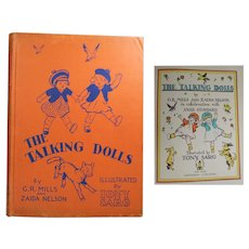 Vintage 1930 Doll Book! Tony Sarg The Talking Dolls!