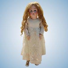 """Lovely Antique German 29"""" Simon Halbig Heinrich Handwerck Bisque Doll!"""