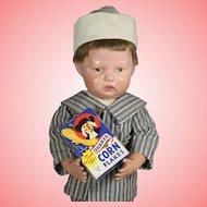 Vintage c1950s Doll Sized Mini Corn Flakes Box!