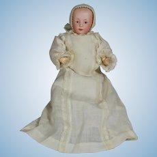 Antique German Bisque Heubach Character Baby #6894
