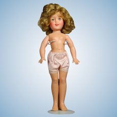 "Vintage 1957 Vinyl 12"" Ideal Shirley Temple Doll"