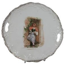 Antique Victorian Red Riding Hood Plate!