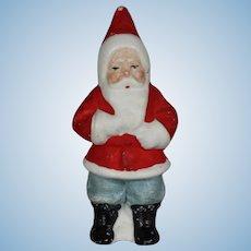 Antique German Bisque Christmas Santa Claus Figurine!