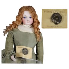 Antique Gibson Girl Pin for Your Doll!