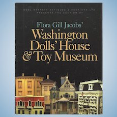 Doll Dollhouse Reference Book! Flora Gill Jacobs' Dolls' House & Toy Museum