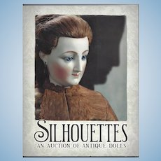 Doll Reference Book! Theriault's Silhouettes Jumeau China Schoenhut Etc!