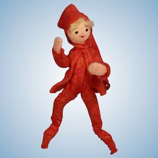 Darling Vintage German BAPS Doll Christmas Pixie Elf!
