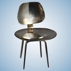 Vintage Sterling Silver Doll EAMES Chair!