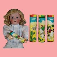 Vintage Mini Doll Size Kaleidoscope Paper Cowboy Theme!