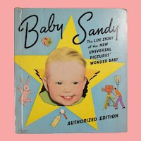 1939 Baby Sandy  Book - Perfect To Display w Your Sandy Doll!